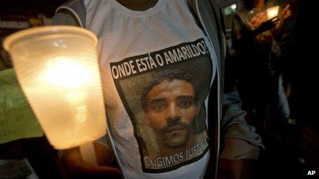 Where is Amarildo? T-shirt