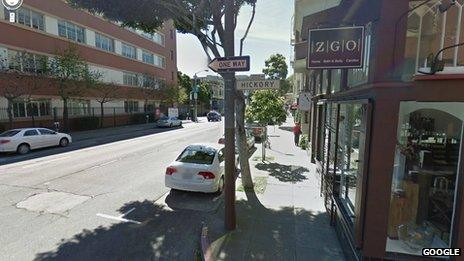 Google Streetview image of Hickory Street, San Francisco