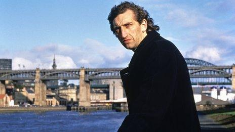 Jimmy Nail in the BBC series Spender