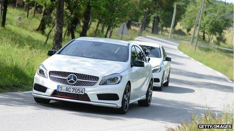 German Mercedes A-Class