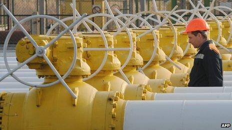 Orlovka gas compressor station, Ukraine