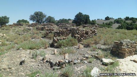 graves in North Waziristan