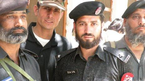 Police in Kohistan