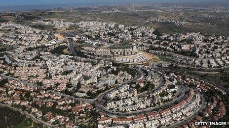 Ramat Shlomo settlement (file)