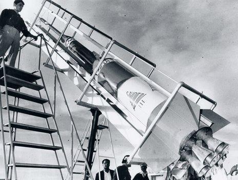 Cedar III before launch