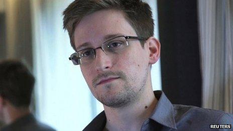 Edward Snowden in a file photo