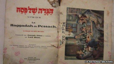 A 1902 Passover Haggadah, hand painted by a young Iraqi