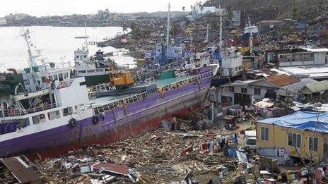 Tref Anibong ger dinas Tacloban