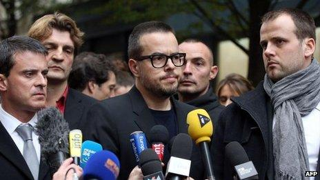 Liberation president Nicolas Demorand (18 November)