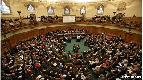 Members of the General Synod of the Church of England