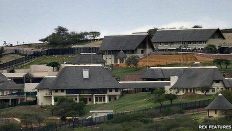 The home of South Africa President Jacob Zuma in Nkandla - 28 September 2012