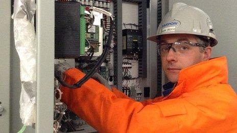Scottish electrician Mark Grieve