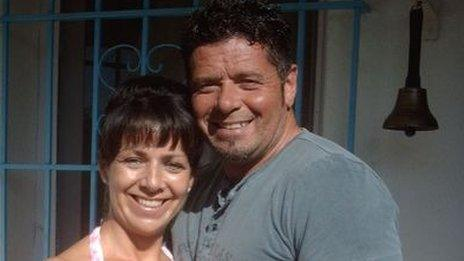 Brian Galea (right) with his wife Michelle