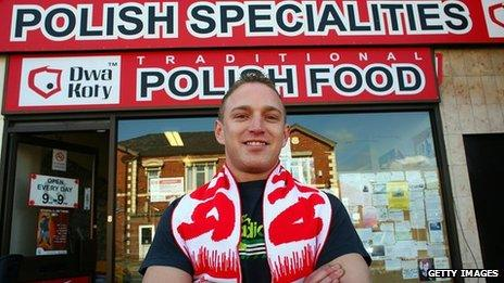 Polish delicatessen in Crewe, UK - file pic