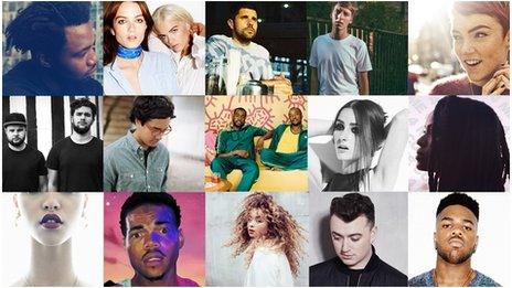 BBC Sound of 2014 longlist artists