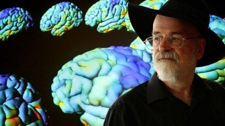 Terry Pratchett in Living with Alzheimer's