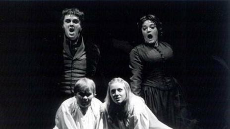 Sophie Bevan in Britten's The Turn of the Screw