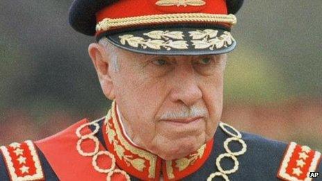 Gen Pinochet in 1998