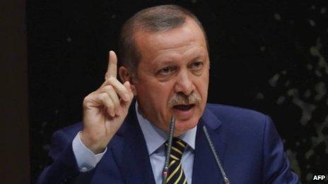 Turkish PM Recep Tayyip Erdogan. Photo: 25 December 2013