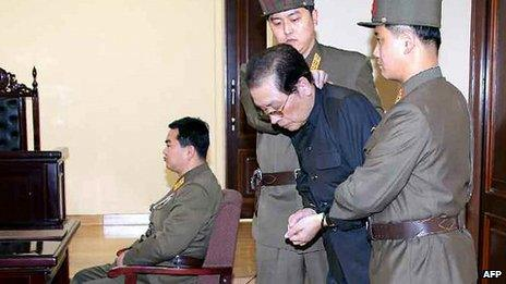 Chang Song-thaek at his trial