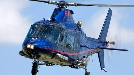 File photo of Agustawestland helicopter AW-109