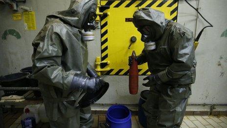 GEKA chemical weapons destruction facility