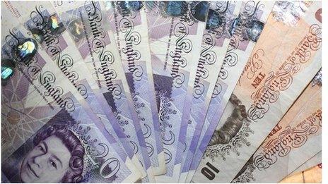 sterling cash notes