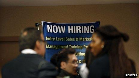 Jobs fair in New York