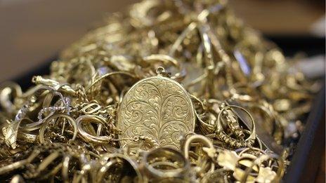 Scrap jewellery