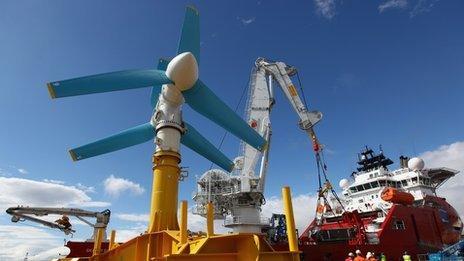 Scottish turbine