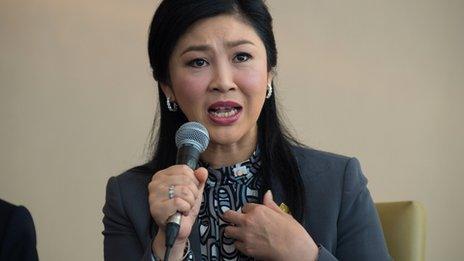 Thai PM Yingluck Shinawatra