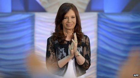 Cristina Fernandez, Dec 2013