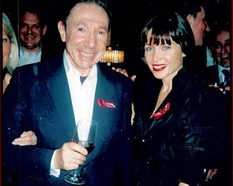 David Abrahams with Danni Minogue