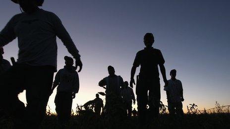Mexican migrant workers in Colorado