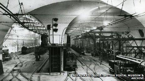 Car Depot and workshop, 1927