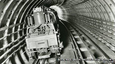 Mail Rail car, 1932
