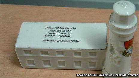Lighthouse bombardment souvenir
