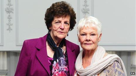 Philomena Lee and Dame Judi Dench