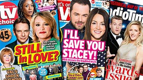 TV Choice, What's On TV and Radio Times