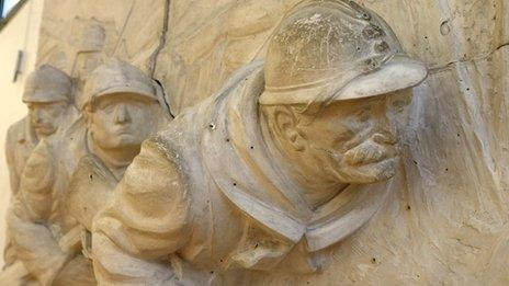 Sculpture, Museum of the Great War 1914-1918, Peronne
