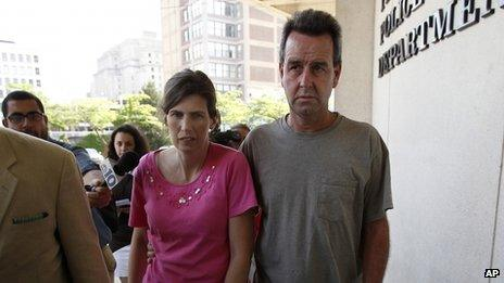Catherine Schaible (left) and Herbert Schaible appeared in Philadelphia, Pennsylvania, on 22 May 2013