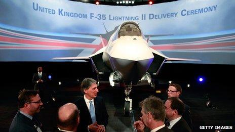 First F-35 Lightning II jet handed over to the UK in 2012