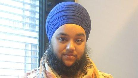 Harnaam Kaur was speaking to Nihal on BBC Asian Network