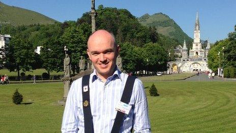 Dr Moran at Lourdes