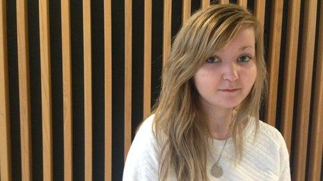 Charlotte, 20, took an overdose after being influenced by blogs on Tumblr