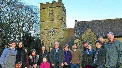 Stottesdon campaigners against chancel repair liability