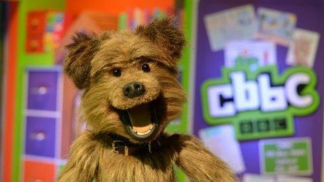 Hacker T Dog on CBBC