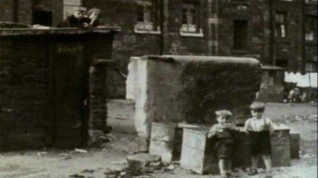 Glasgow post war housing