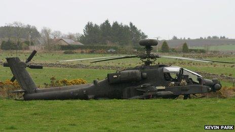 Apache in field