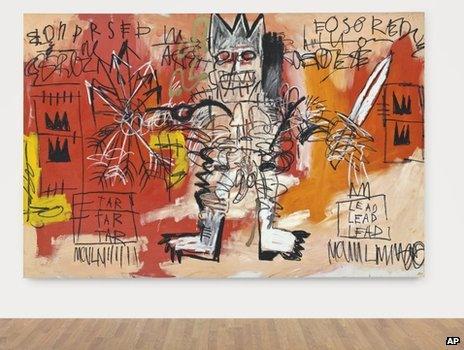 Jean-Michel Basquiat's untitled
